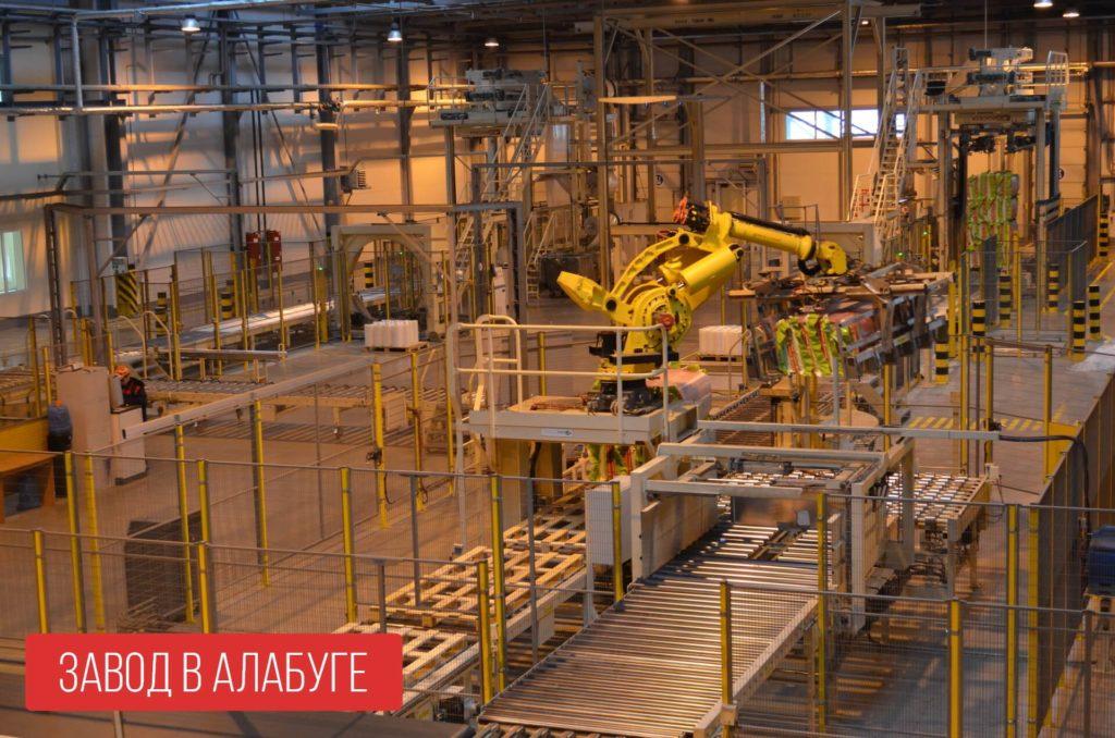 Завод ROCKWOOL в ОЭЗ Алабуга