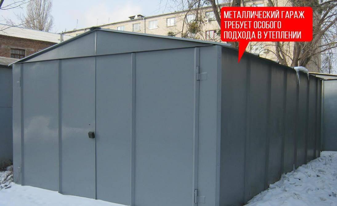 Как утеплят железный гараж купить электрический котел для отопления гаража