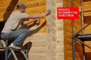 обработка деревянных констуркций