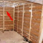 обрешетка деревянного дома изнутри