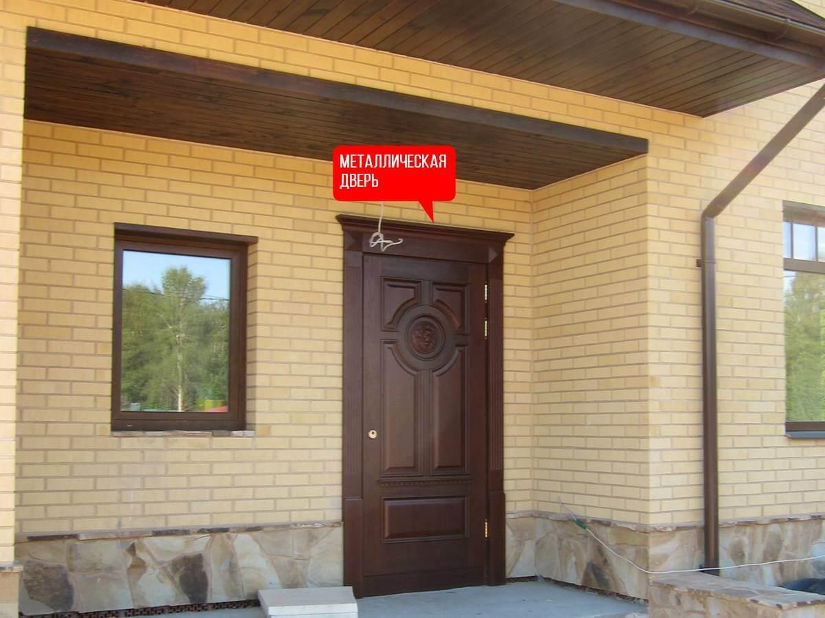 дверь в частном доме