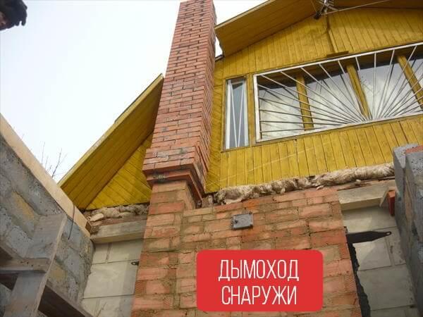 Дымоход снаружи своими руками дымоходы в иркутске купить