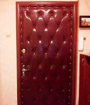 финишная обшивка двери