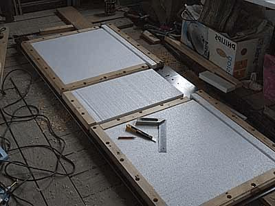 утепление металлической двери 2