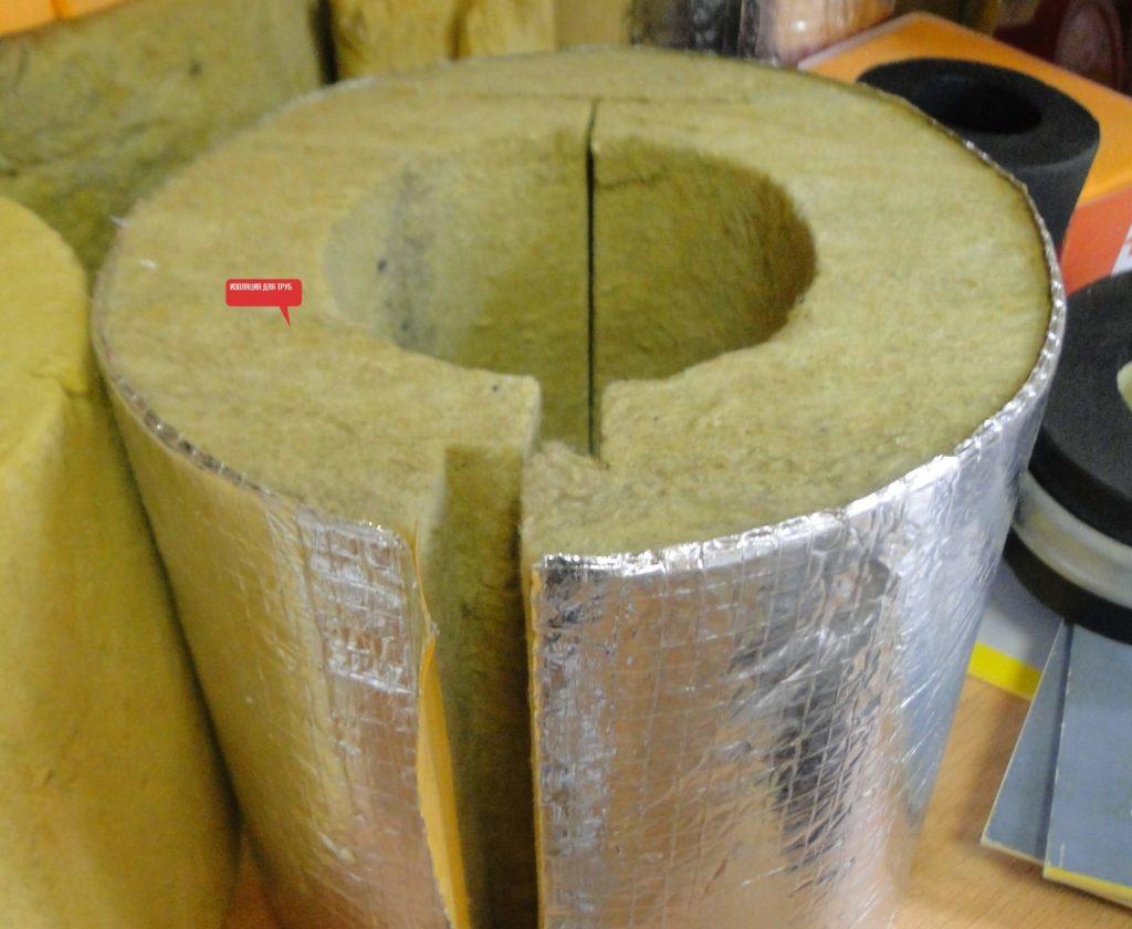 6 Минераловатные цилиндры для труб