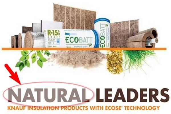 Линейка натуральных продуктов Кнауф