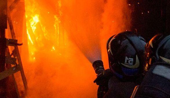 возгорание на заводе Седина в Краснодаре