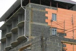 теплоизоляция фасада с помощью пеноплекс 45 (1)