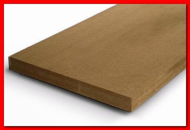 Плиты из древесного утеплителя