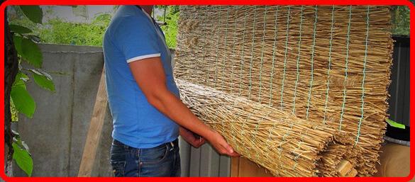 Рогожка(камышовые маты)