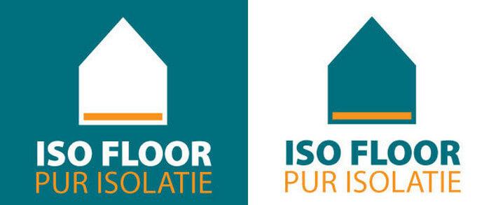ISOFLOOR утеплитель. Лого