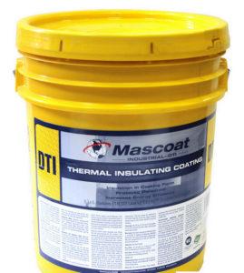 Теплоизоляция Mascoat. Вид