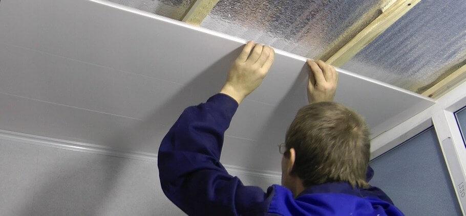 Как утеплить потолок в гараже. Панели
