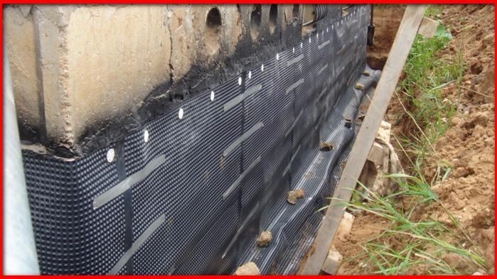гидроизоляция вертикальных поверхностей