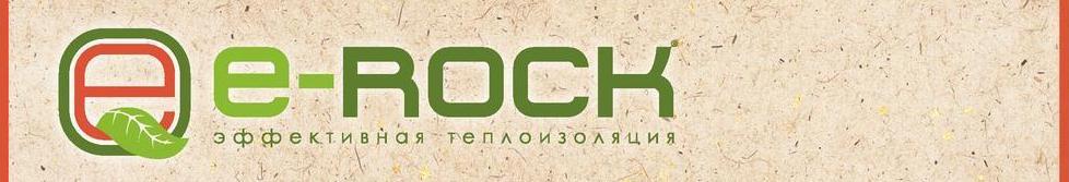 Утеплитель e rock. Лого