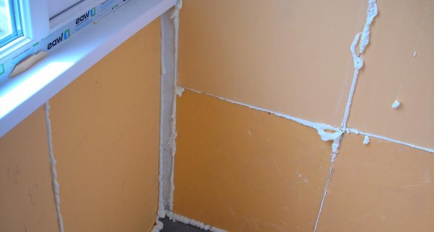 Утепление балкона в хрущевке своими руками. Стены