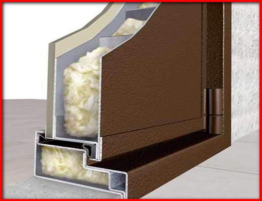 утепление коробки железной двери