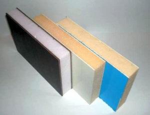 Материалы теплоизоляционные. ППВХ