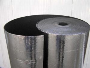 Материалы теплоизоляционные. Фольгированный утеплитель