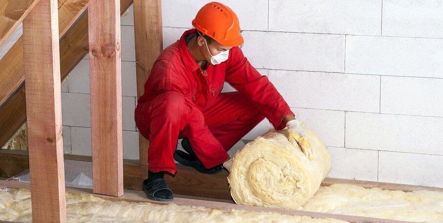 Утепление перекрытия чердачного по деревянным балкам. Материалы
