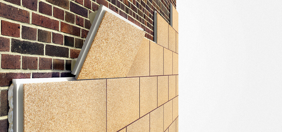 Фасадный утеплитель. Термопанели для утепления фасадов