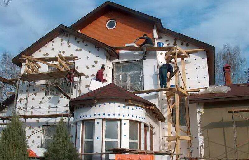 Утепление крыши эркера. Утепление всей конструкции дома